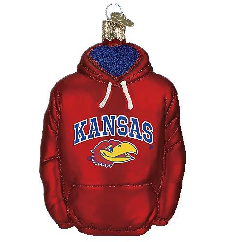 Kansas Hoodie 61103 Ornament Old World Christmas