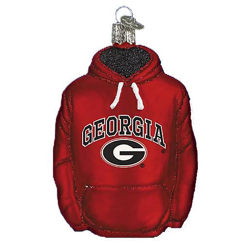 Georgia Hoodie 62303 Old World Christmas Ornament