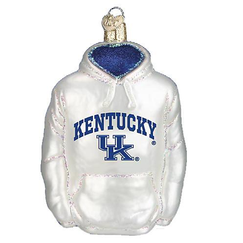 Kentucky Hoodie 62503 Old World Christmas Ornament