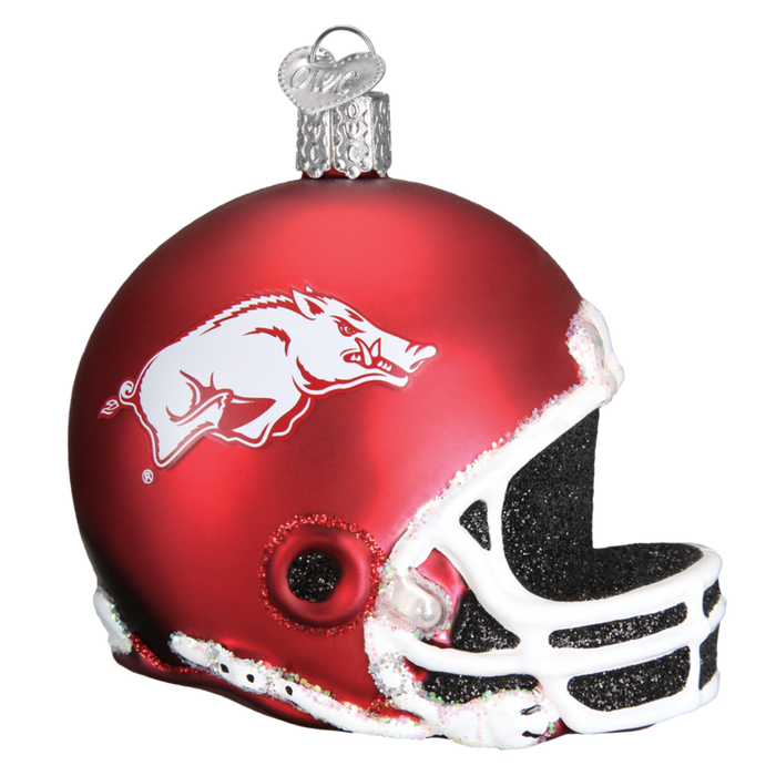 Arkansas Football Helmet 62617 Old World Christmas Ornament