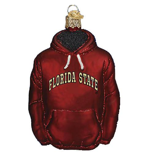 Florida State Hoodie 62703 Ornament Old World Christmas
