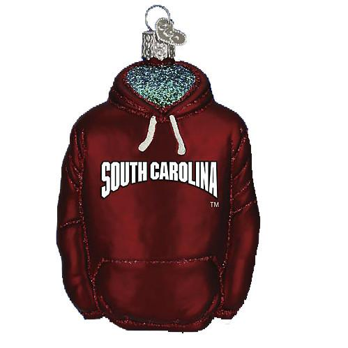 South Carolina Hoodie 63003 Ornament Old World Christmas