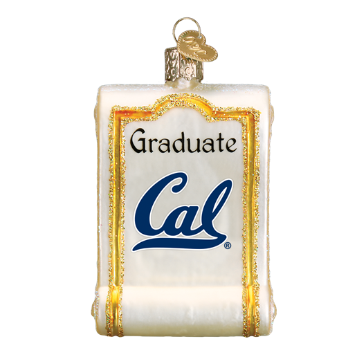 California Diploma 63312 Old World Christmas Ornament