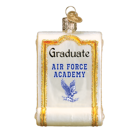 Air Force Diploma 65012 Old World Christmas Ornament
