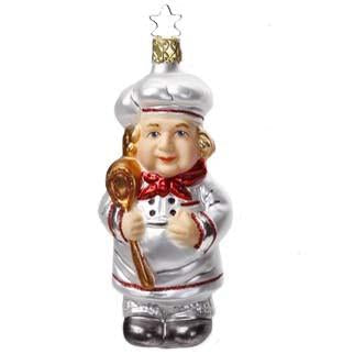 Le Maitre The Chef Christmas Ornament Inge-Glas of Germany 68245
