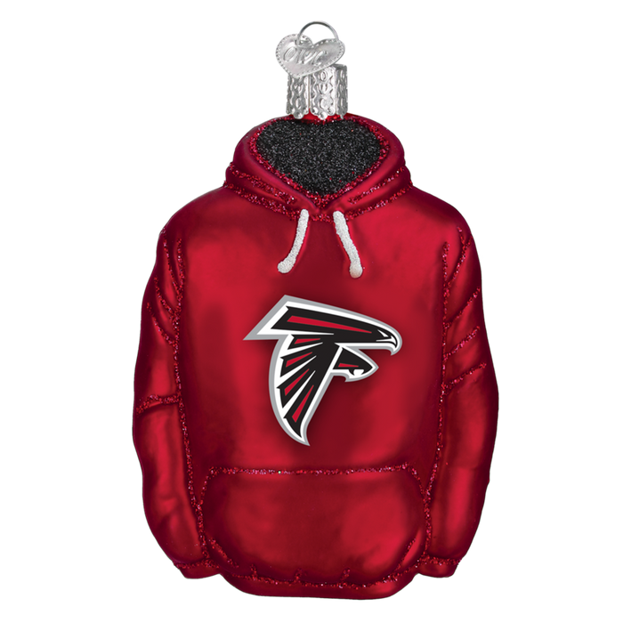 Atlanta Falcons Hoodie 70203 Old World Christmas Ornament