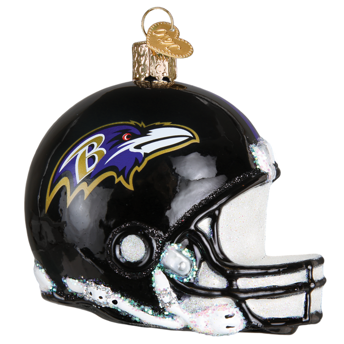 Baltimore Ravens Helmet 70317 Old World Christmas Ornament