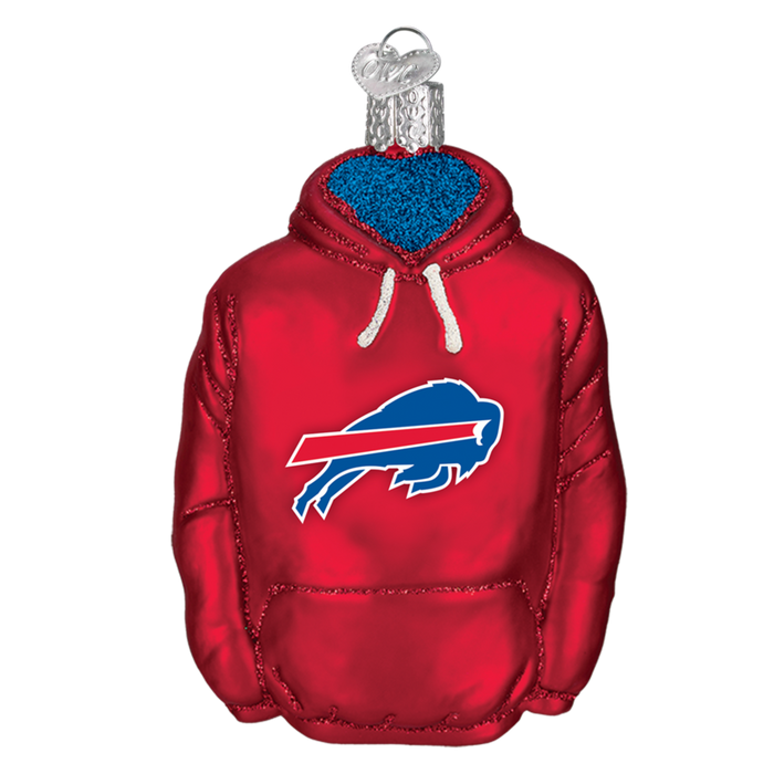 Buffalo Bills Hoodie 70403 Old World Christmas Ornament