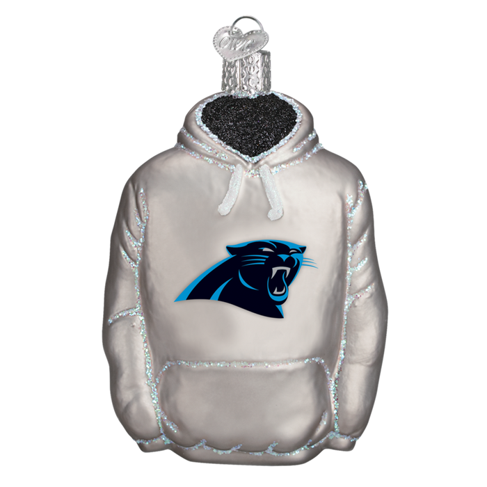 Carolina Panthers Hoodie 70503 Old World Christmas Ornament