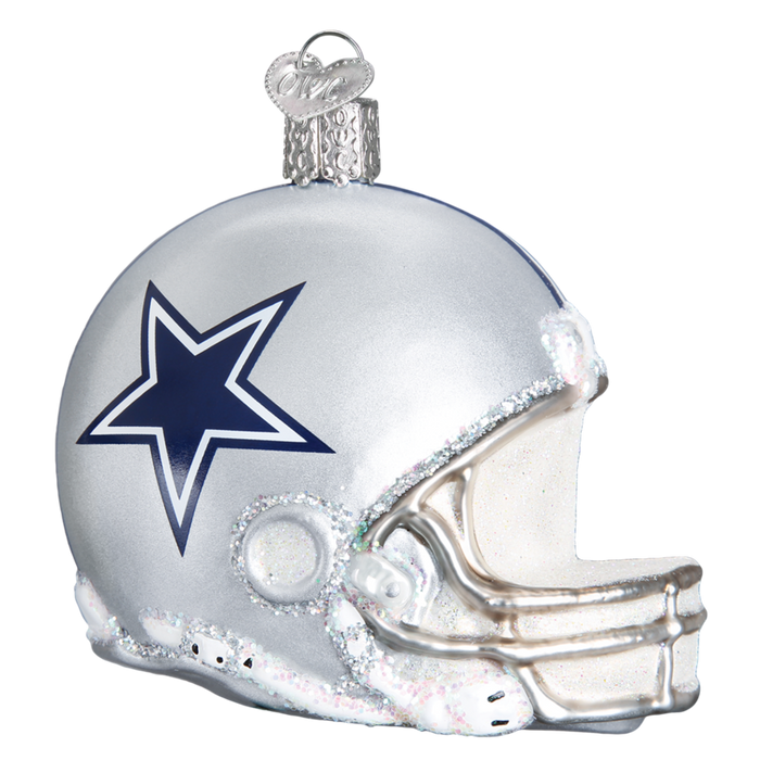 Dallas Cowboys Helmet 70917 Old World Christmas Ornament