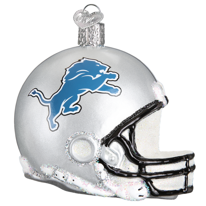 Detroit Lions Helmet 71117 Old World Christmas Ornament