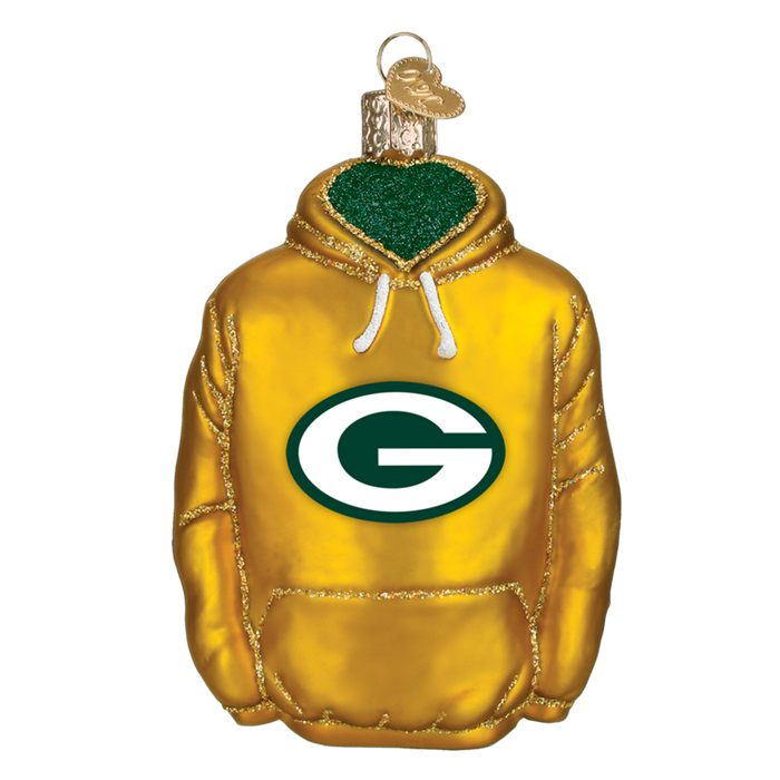 Green Bay Packers Hoodie 71203 Old World Christmas Ornament