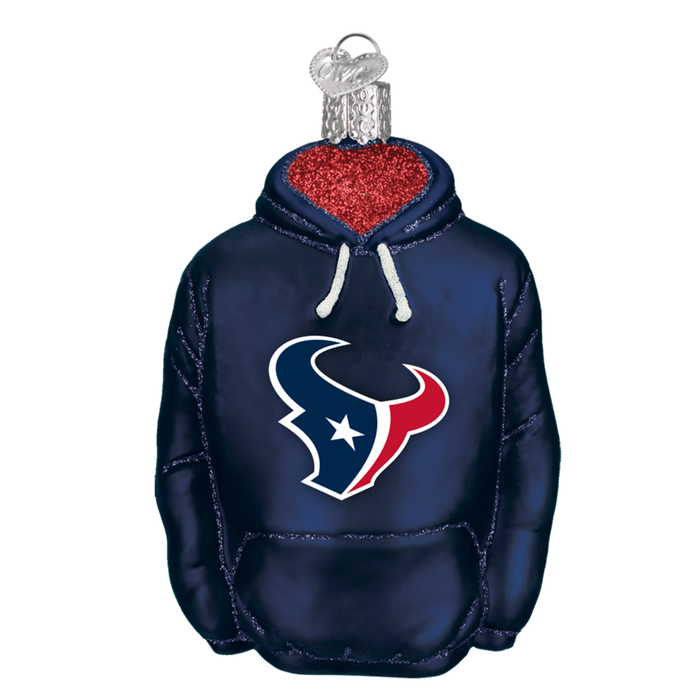 Houston Texans Hoodie 71303 Old World Christmas Ornament