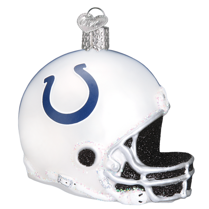 Indianapolis Colts Helmet 71417 Old World Christmas Ornament