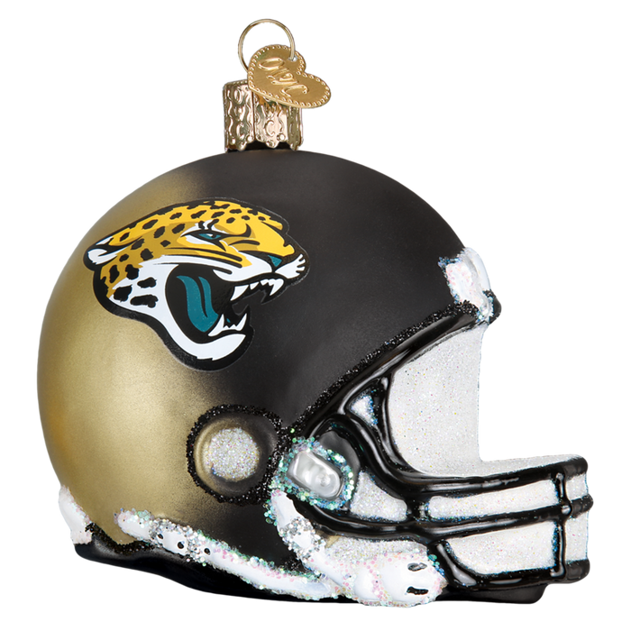 Jacksonville Jaguars Helmet 71517 Old World Christmas Ornament