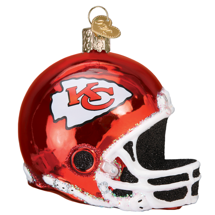 Kansas City Chiefs Helmet 71617 Old World Christmas Ornament