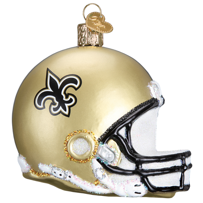 New Orleans Saints Helmet 72117 Old World Christmas Ornament