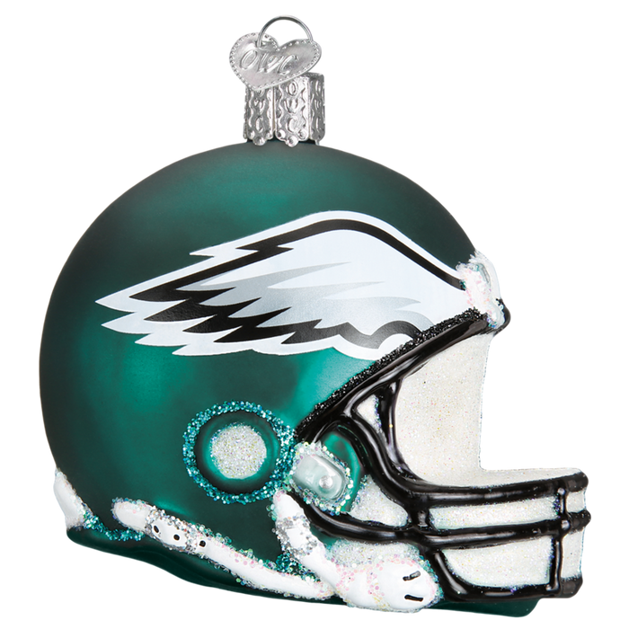 Philadelphia Eagles Helmet 72517 Old World Christmas Ornament