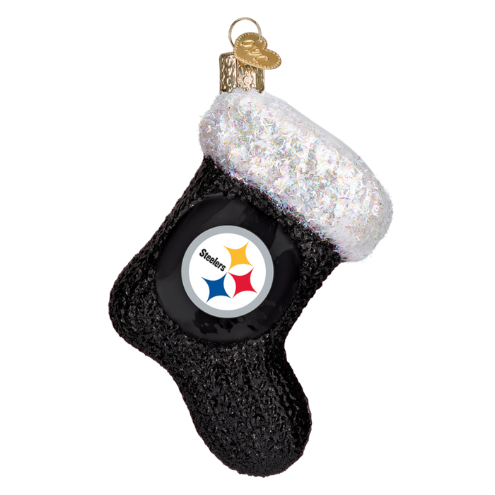 Pittsburgh Steelers Stocking 72608 Old World Christmas Ornament