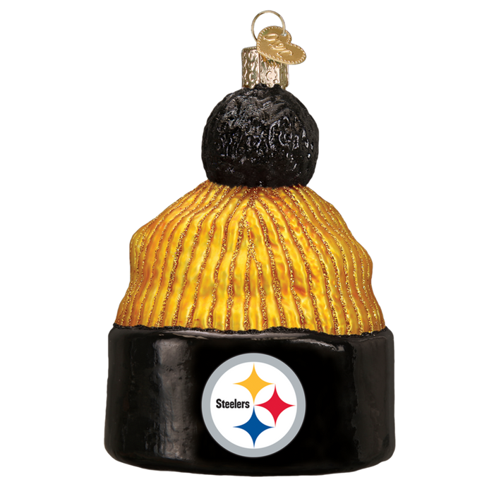 Pittsburgh Steelers Beanie 72614 Old World Christmas Ornament
