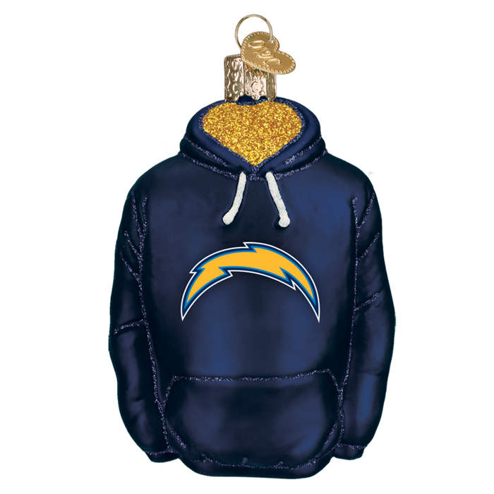 Chargers Hoodie 72703 Old World Christmas Ornament