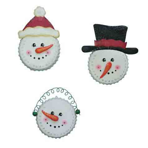 Christmas Countdown Snowman Wall Hanger Assorted