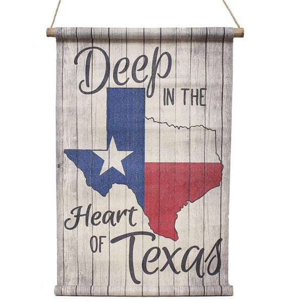 "14.5"" Deep in the Heart of Texas Mini Banner"