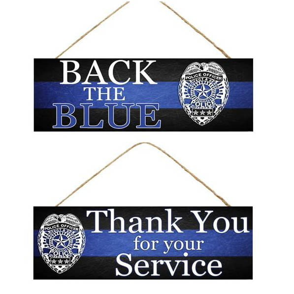 Law Enforcement Wooden Sign Assorted