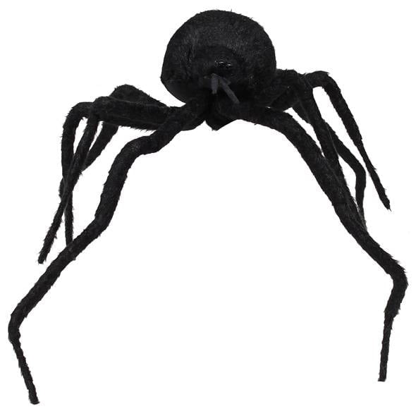 "23"" Black Fur Spider HH385102"