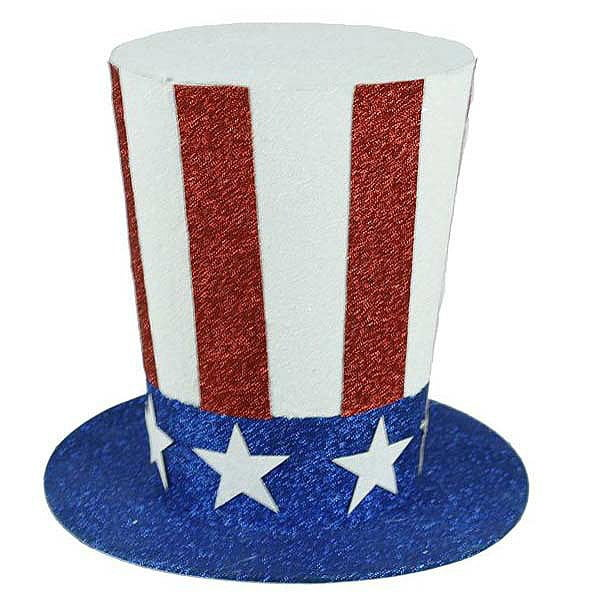 "8.25"" Patriotic Uncle Sam's Hat HJ0014"