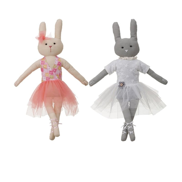 Ballerina Sitting Bunny Assorted P9575