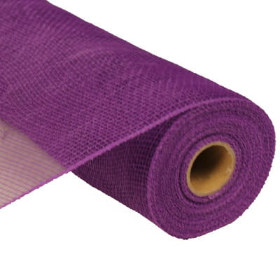 "10"" Purple Deco Poly Mesh RE130223"