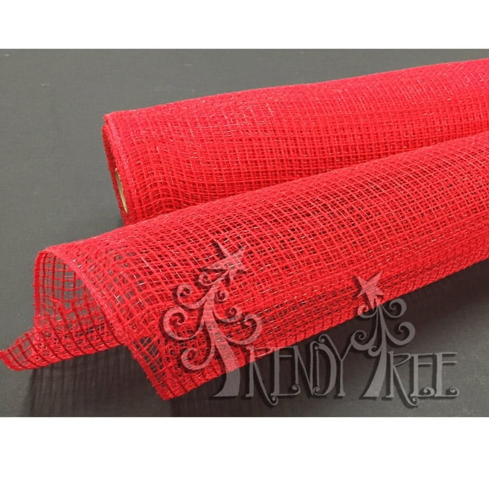 "21"" Red Fabric Mesh XB979-12"
