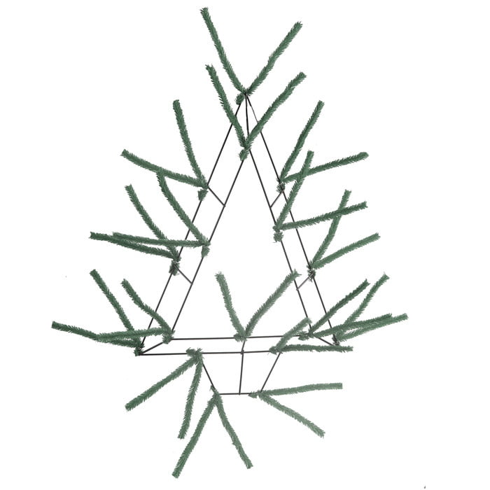 "20"" Pencil Open Wall Tree Evergreen"