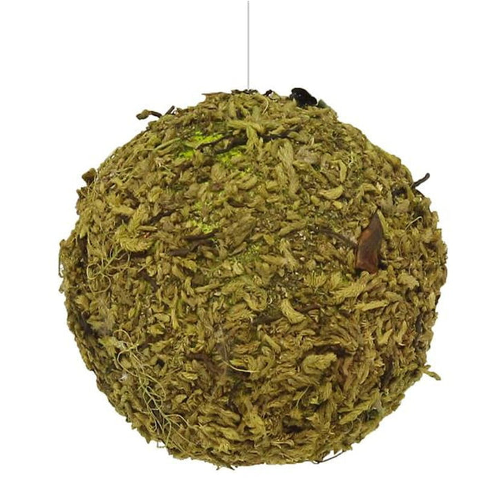 "4"" Natural Moss Ball Ornament"