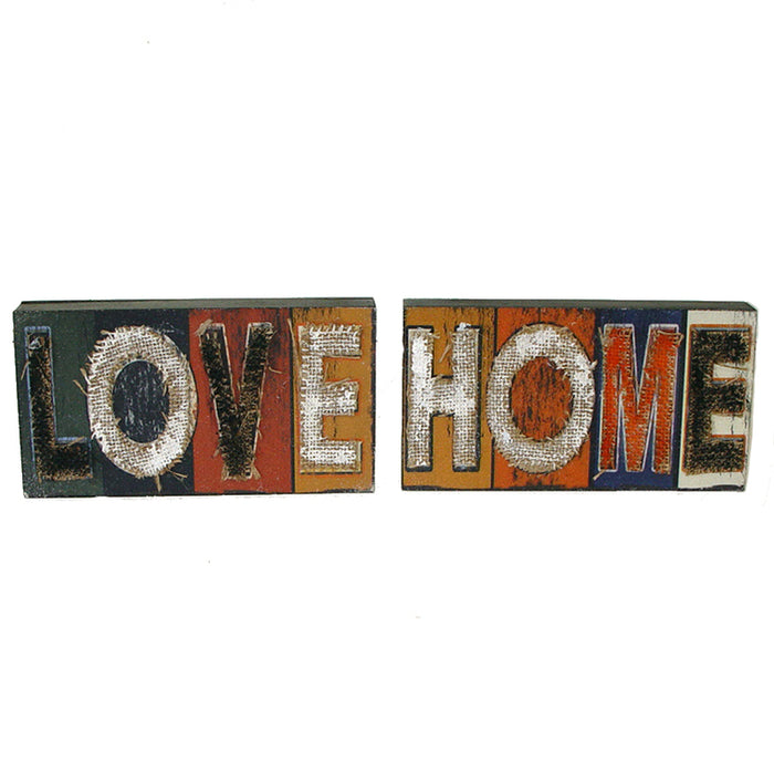 Home Sentiment Small Wall Hanging Set of 2