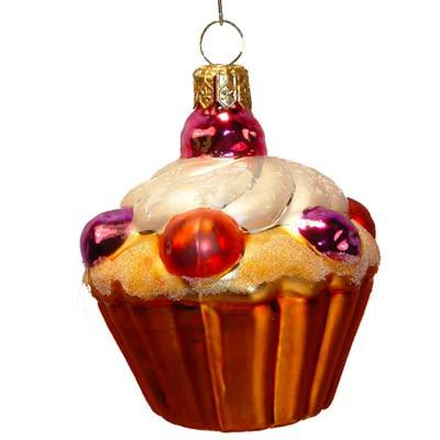 Cupcake Christmas Ornament from Varsovia of Poland
