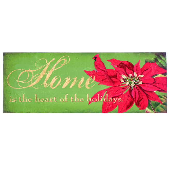 Inspirational Holiday Word Sign Christmas Decoration Set of 3