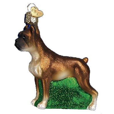 Boxer Dog 12304 Old World Christmas Ornament