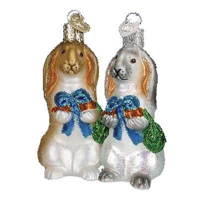 Flopsy Bunny 12350 Old World Christmas Ornament
