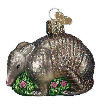 Armadillo12369 Old World Christmas Ornament