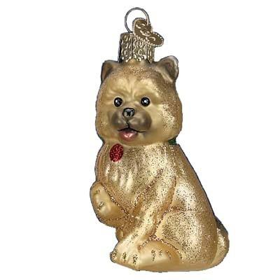 Cairn Terrier Dog 12376 Old World Christmas Ornament