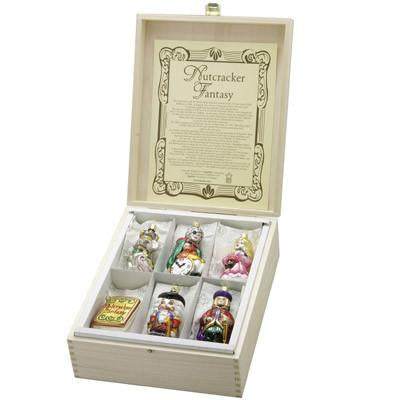 Nutcracker Fantasy Keepsake Box Ornaments Inge-Glas 1-321-06