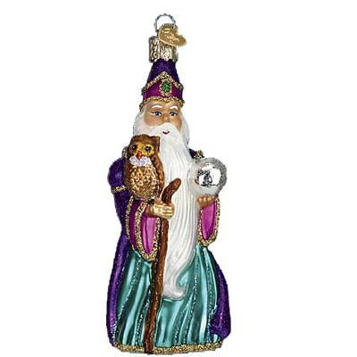 Wizard 24132 Old World Christmas Ornament