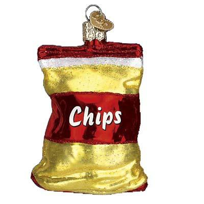 Bag of Chips 32154 Old World Christmas Ornament