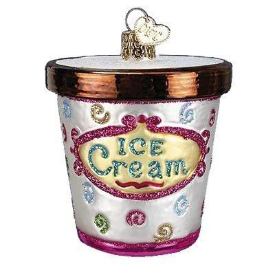 Ice Cream Carton 32177 Old World Christmas Ornament