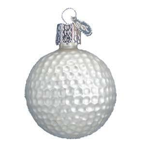 Golf Ball 44014 Old World Christmas Ornament