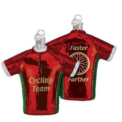 Bicycle Jersey 44061 Old World Christmas Ornament