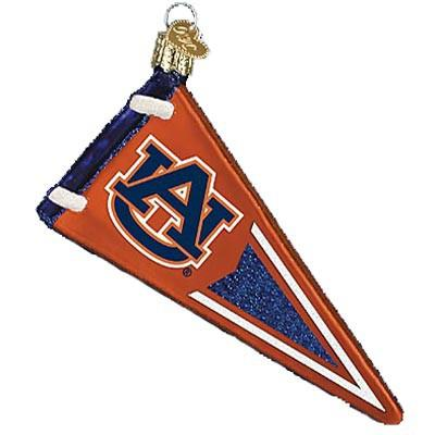 Auburn University Pennant 62406 Ornament Old World Christmas