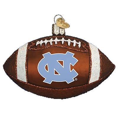University of North Carolina Football 64500 Old World Christmas Ornament